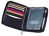 CLICK ON Lodis Palm Pilot holder leather and ENLARGE