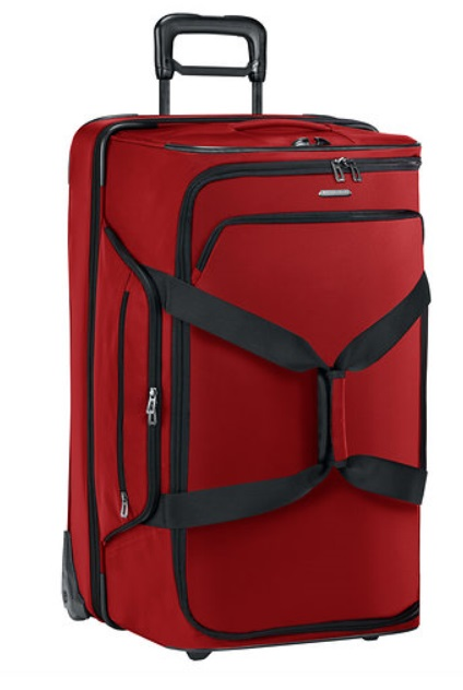 TUD329 Briggs and Riley Transcend Dual Compartment Rolling Duffle