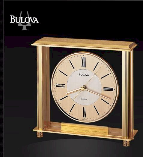 B1700 Bulova Grand Prix Executive Clock