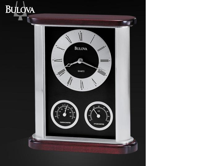B7590 Bulova  Belvedere Executive Clock