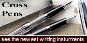 New Cross Writing Instruments  -click here-