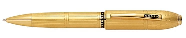 Cross Peerless Special Edition London's Big Ben 23k Heavy Gold Plate Ball Point Pen