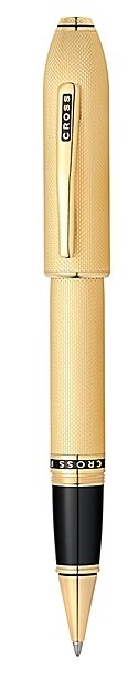 Cross Peerless 125 23K Heavy Gold Plate Roller Ball