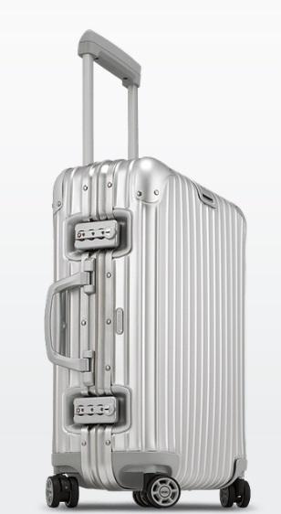 """Rimowa Topas Aluminum 21"""" Cabin Multiwheel IATA Domestic"""