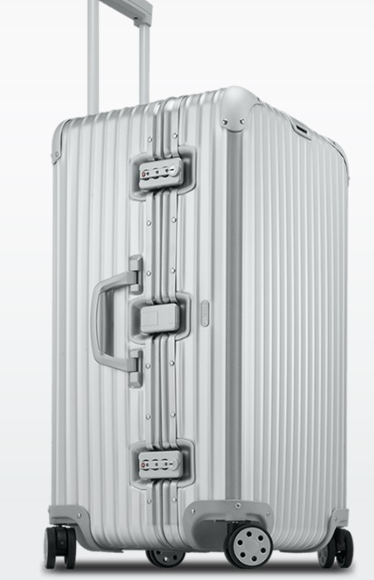 "Rimowa Topas Aluminum 28"" Sports Trunk"