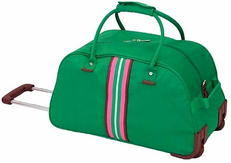hilfiger luggage green images